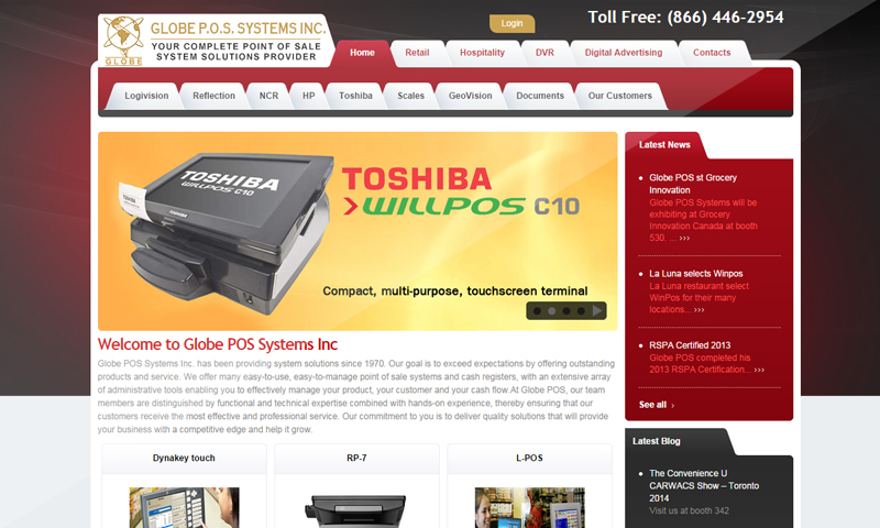 Globe POS Systems Inc